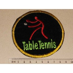 Аппликация TABLE TENNIS на...